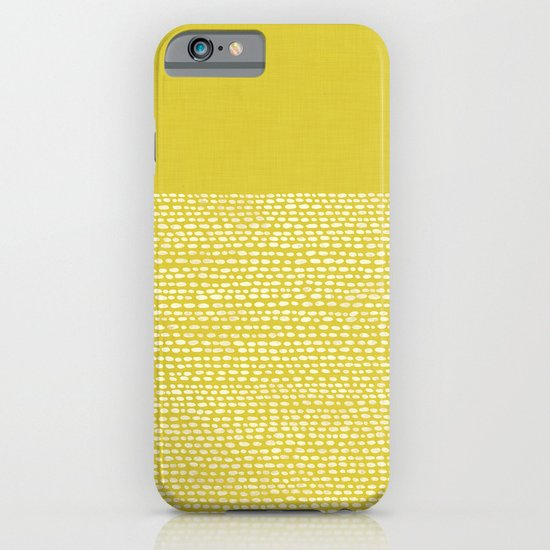 Riverside(Yellow) iPhone & iPod Case