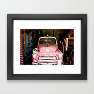 Hidden In Time! Framed Art Print