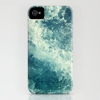 iPhone Cases featuring Water I by Dr. Lukas Brezak
