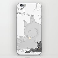 this is a good life iPhone & iPod Skin