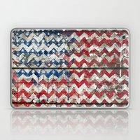 American Chevrons Flag. Laptop & iPad Skin