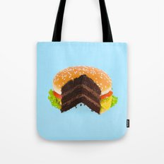 Hamburger Cake Tote Bag