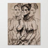 Seeing in Quattttro Canvas Print