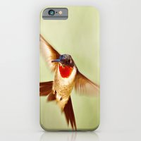 iPhone & iPod Case featuring The Hummingbird by Angela Stansell Photography