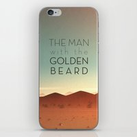 The Man with the Golden Beard iPhone & iPod Skin