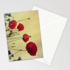 4 Poppys Stationery Cards