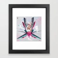 LUCY Framed Art Print