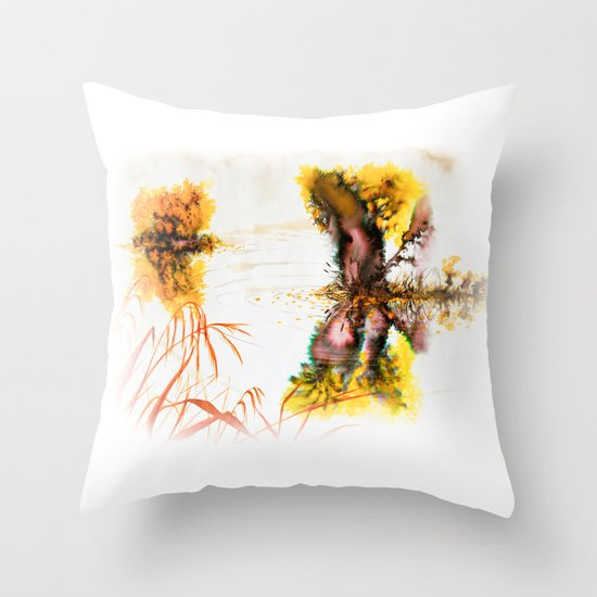 Fog Throw Pillow