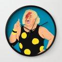 Ziggy StarDusty Rhodes Wall Clock
