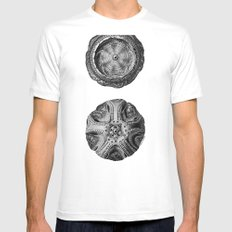 Mystical Orbs Mens Fitted Tee SMALL White