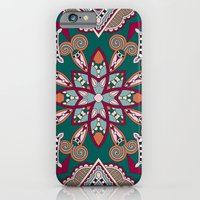 African Floral Pattern iPhone 6 Slim Case