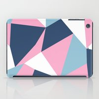 Abstraction Pink iPad Case