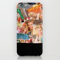 magazine collage iPhone 6 Slim Case