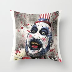 Captain Spaulding -The D… Throw Pillow