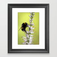 I'll Be Here For A While Framed Art Print