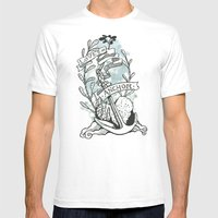Love Is An Anchor Mens Fitted Tee White SMALL
