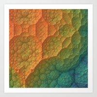 Amazing Terrain Art Print