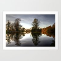 Rye Water Lake Art Print