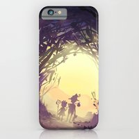 iPhone & iPod Case featuring fairy forest by xephia