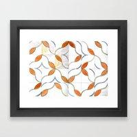 Modern Tiles Framed Art Print