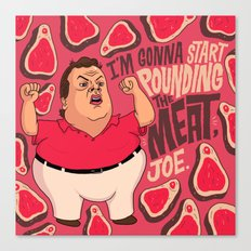 Chris Christie Is Going … Canvas Print