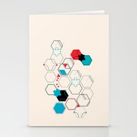 Bumble bees Stationery Cards