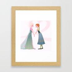 Frozen Fever - Anna Framed Art Print