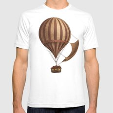 Departure  SMALL Mens Fitted Tee White