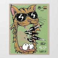 Blind Blind Tiger Canvas Print