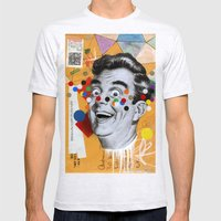 Mail Me Art Mens Fitted Tee Ash Grey SMALL