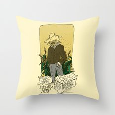 Real in the field... Throw Pillow