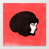 60s Canvas Print