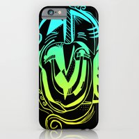 iPhone & iPod Case featuring Two Face by Jonnea Herman
