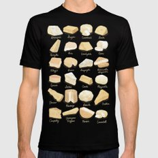 Cheese Revamp Mens Fitted Tee SMALL Black
