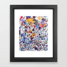 Interconnected  Framed Art Print