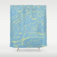 Melting Sky Shower Curtain