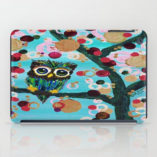 :: Gemmy Owl Loves Jewel Trees :: iPad Case