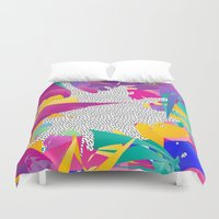 80s Abstract Duvet Cover