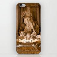 Trevi Fountain At Night iPhone & iPod Skin