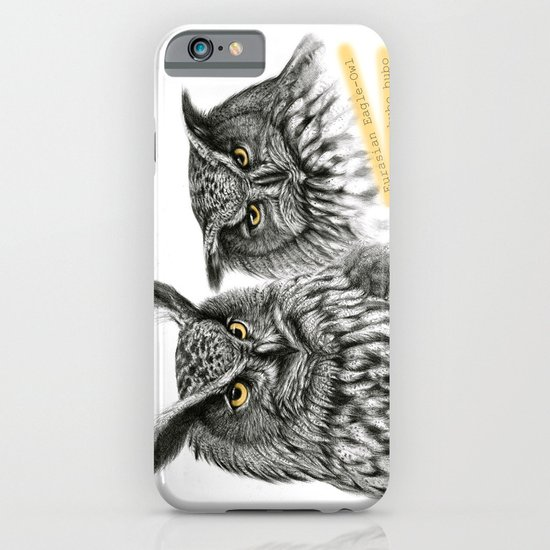 Two OWLs  G2010-11 iPhone & iPod Case