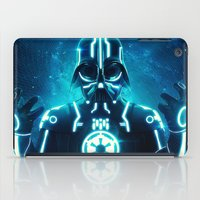 Tron Vader Blue iPad Case