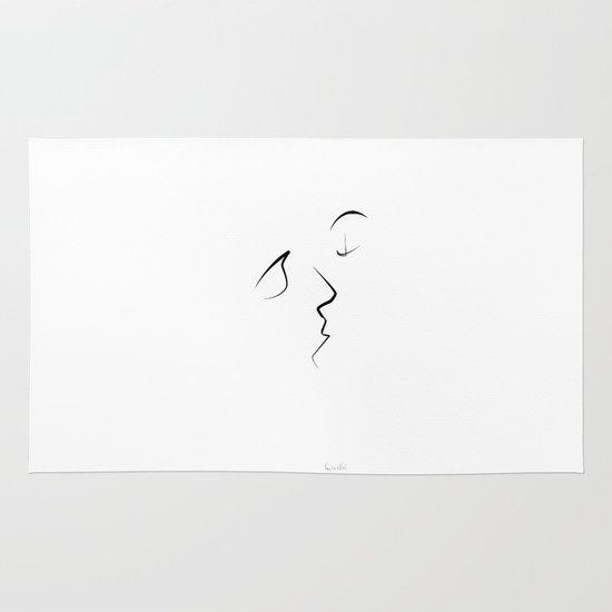 Kiss/beso/kuss/baiser/beijo/ Area & Throw Rug