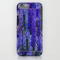 Purple-Blue Amethyst  Hyacinth Flowers Fantasy Art Slim Case iPhone 6s