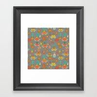 Pattern Project #4 / Esio Trot Framed Art Print
