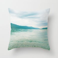 lake 0102 Throw Pillow