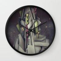 Fog Collar Wall Clock