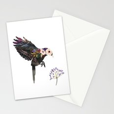 Hummingbird Watercolour Silhouette Stationery Cards
