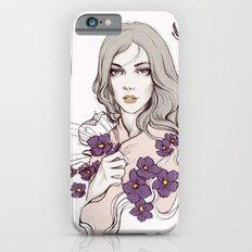 Birth Flower II - Violet Slim Case iPhone 6s