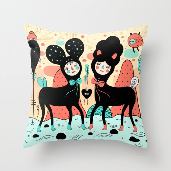 Love • Love Throw Pillow