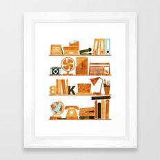 Office Framed Art Print